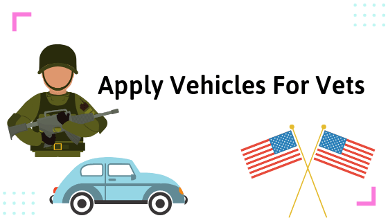 Apply Today!! Cars for Vets & Disabled People